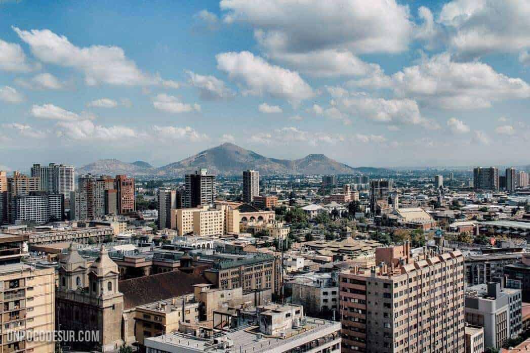 Santiago de chile desde las alturas for Piso relax santiago