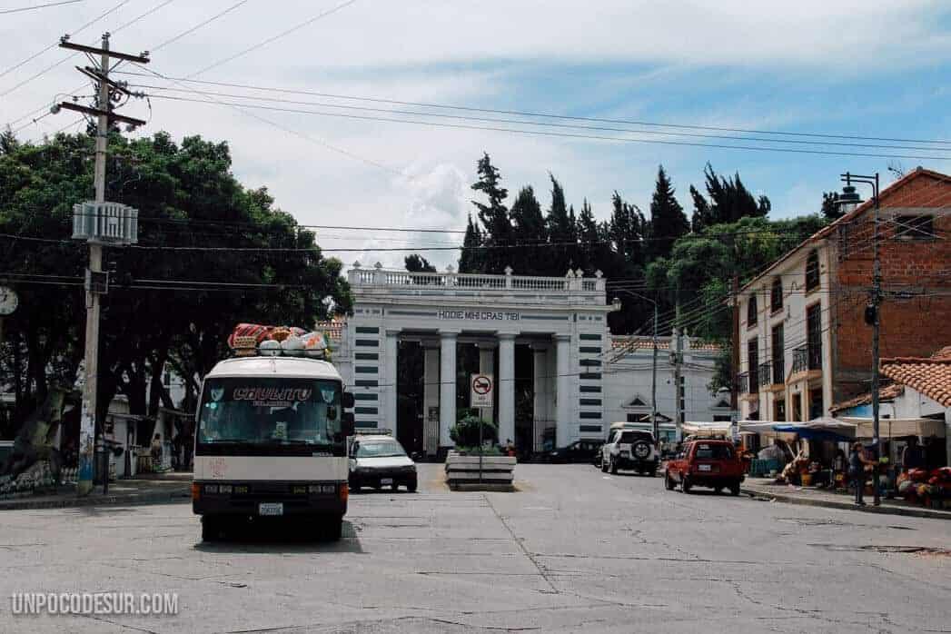 Sucre Mochileros