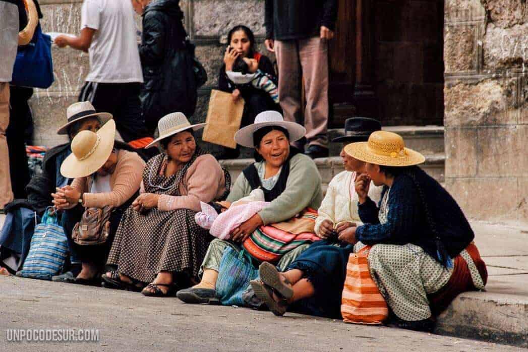 Mujeres Bolivianas Potosi