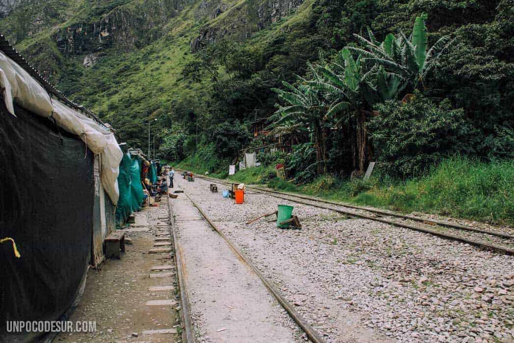 Ruta alternativa a Machu picchu