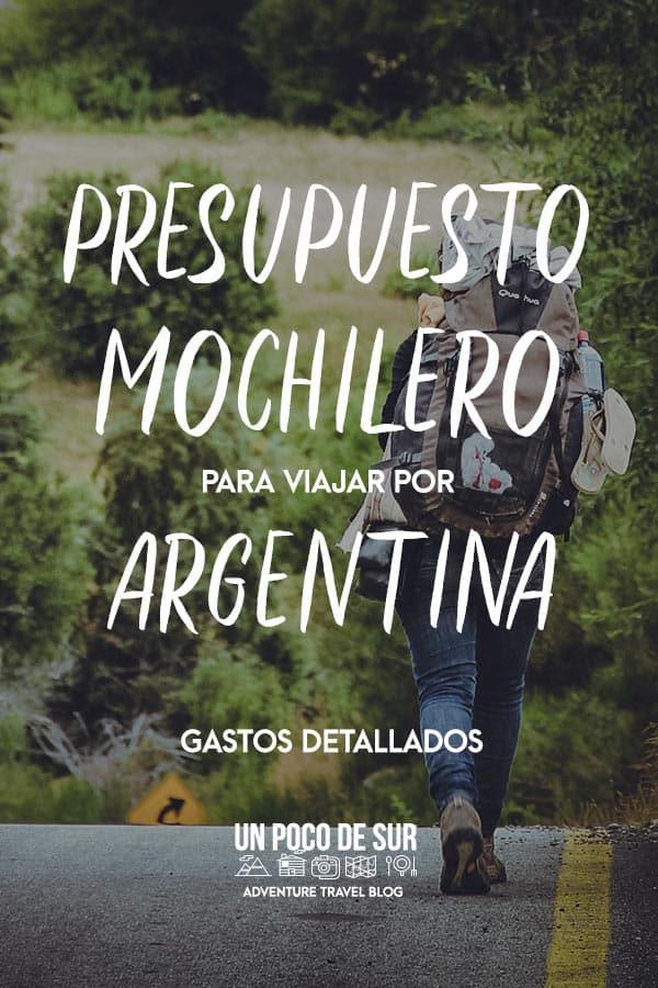 Presupuesto mochilero para viajar a Argentina