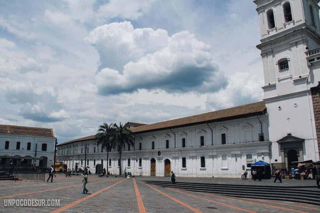 Plaza santo domingo quito