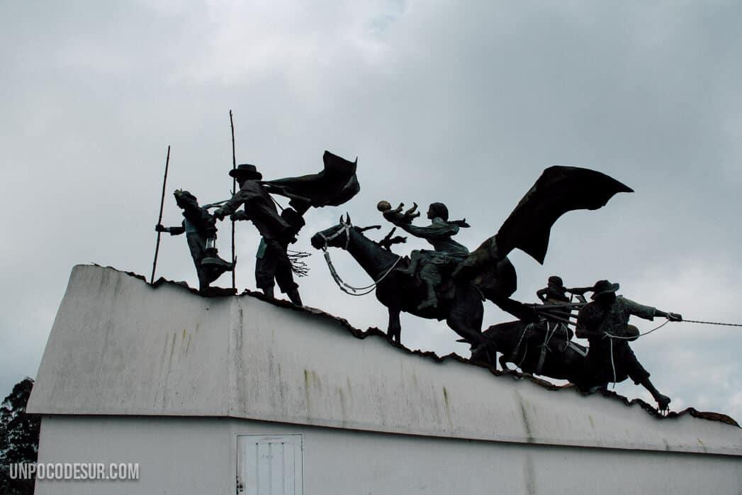 Mochileros en Manizales