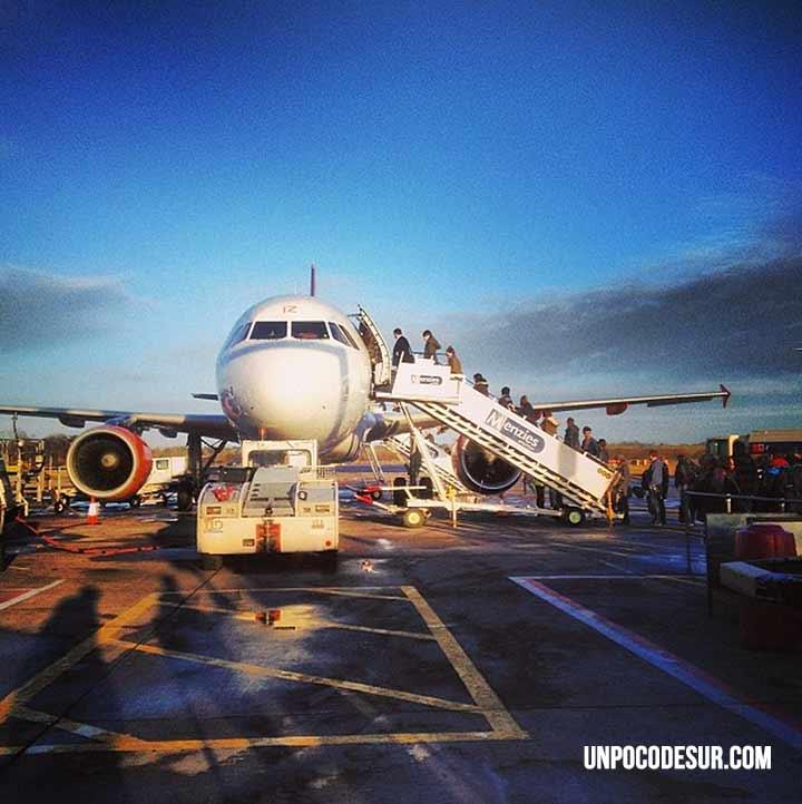 Embarcar avión