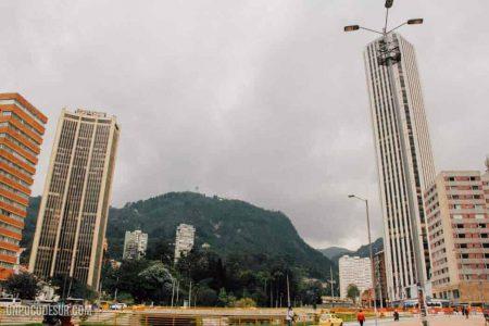Mochileros en Bogotá