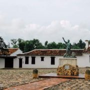 Mochileros en Villa de Leyva