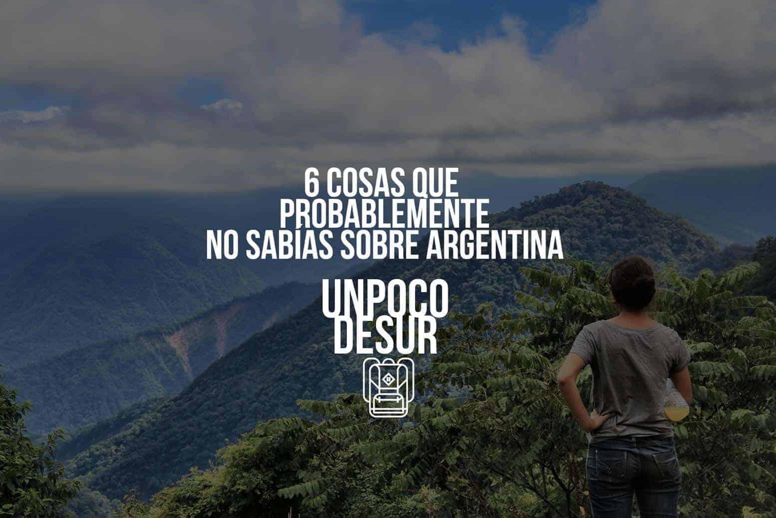 Curiosidades sobre Argentina