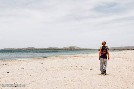 Mochileros en Cabo de la vela