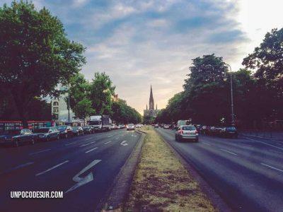 Atardecer en Berlín