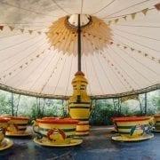 Parque de atracciones abandonado