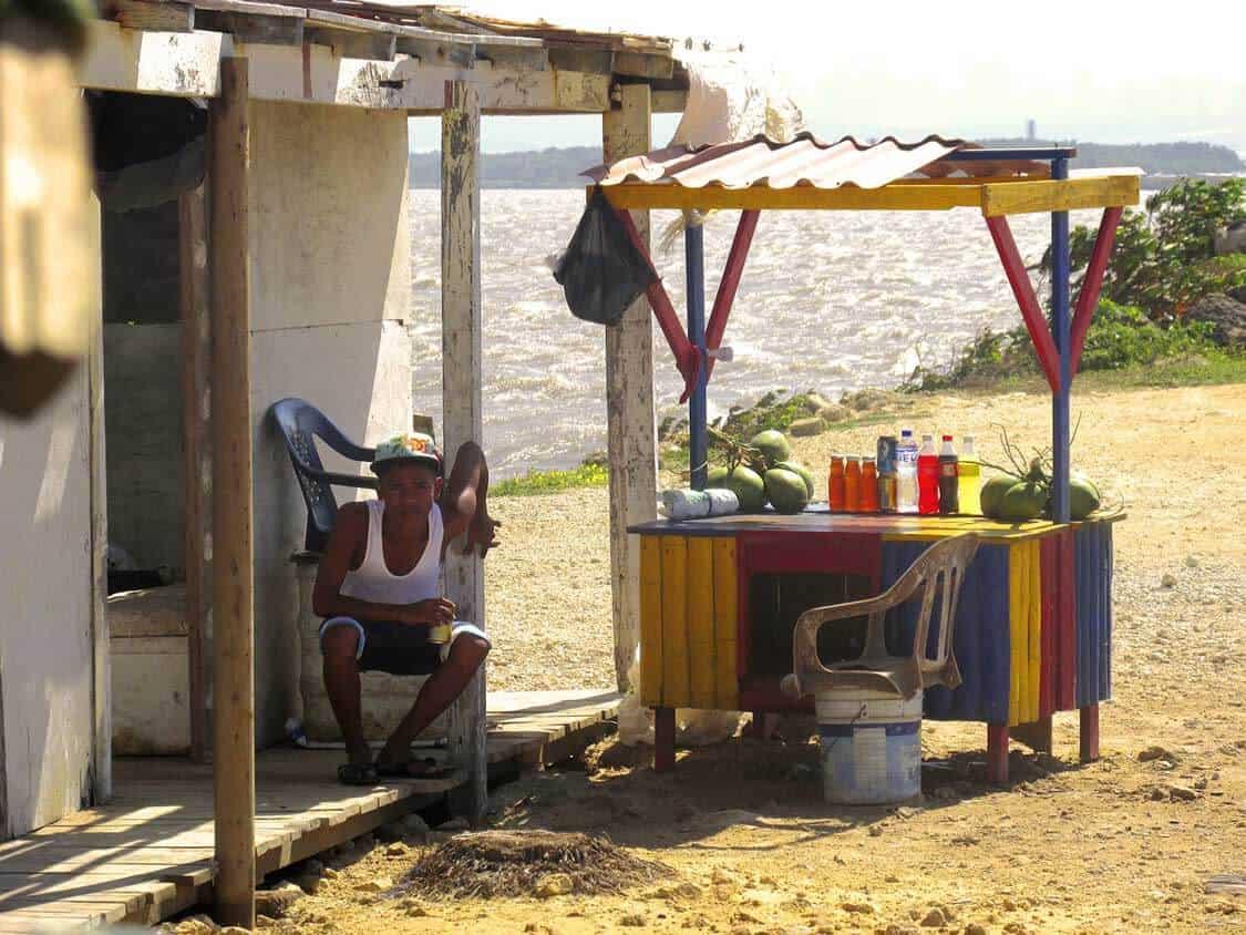 Bocas de Ceniza, Colombia