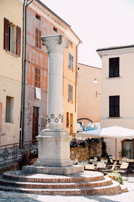 Bertinoro Columna de l'anella