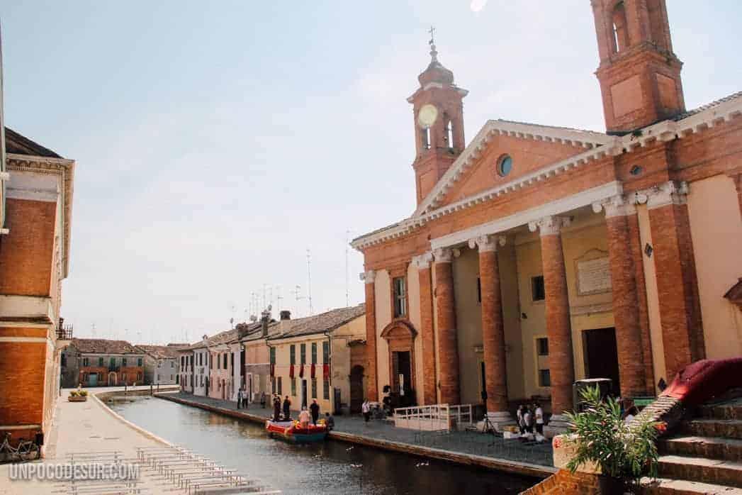Comacchio Emilia Romaña