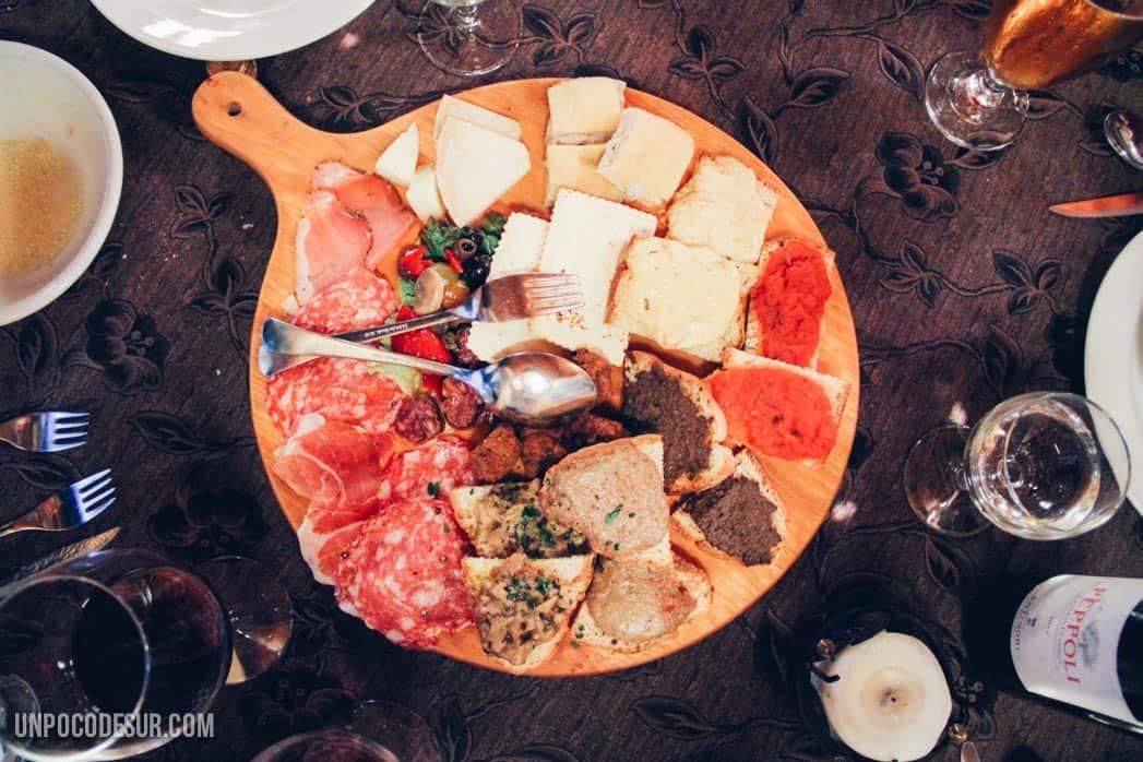 Comida en Il toscano