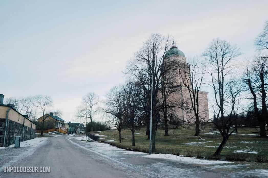 la isla fortaleza Suomenlinna