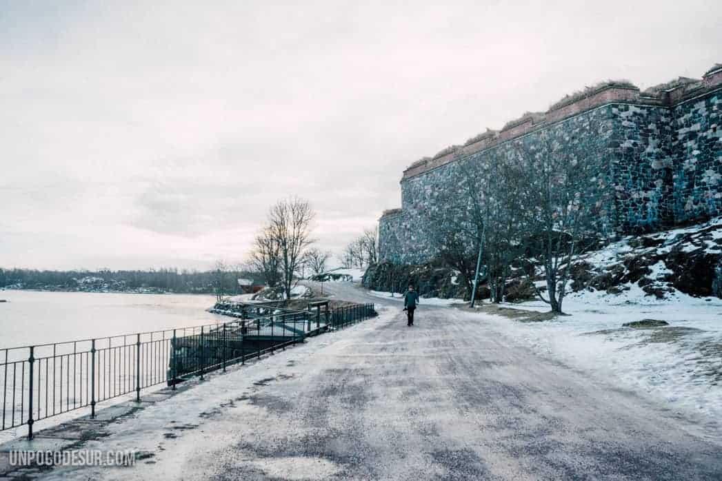 Una mañana en Suomenlinna