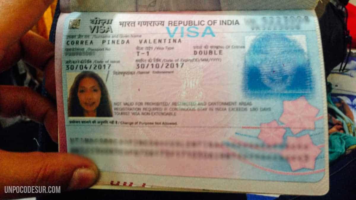 Visa india en Teheran