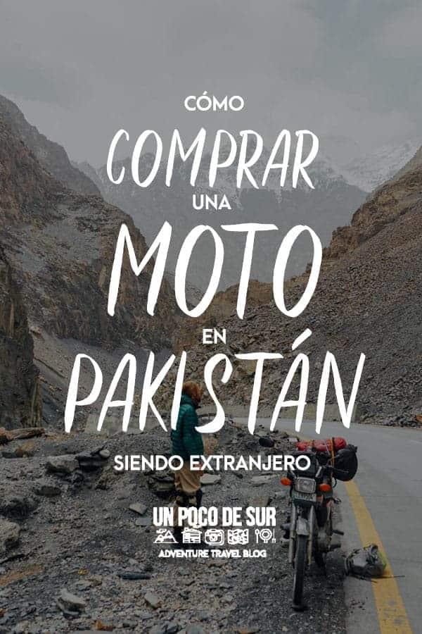 Como comprar una moto en pakistan