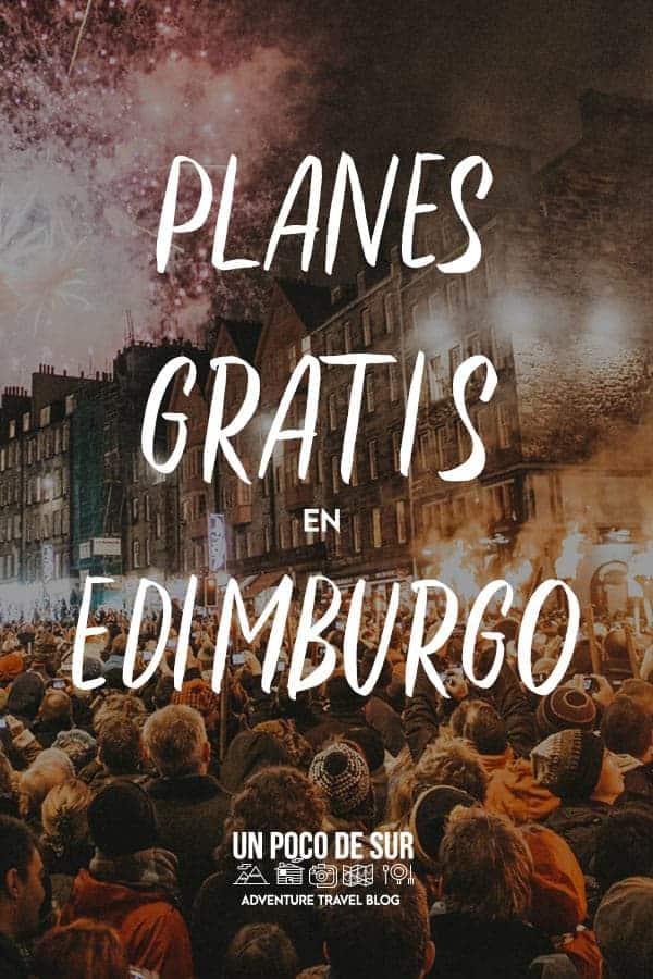 Planes gratis en Edimburgo
