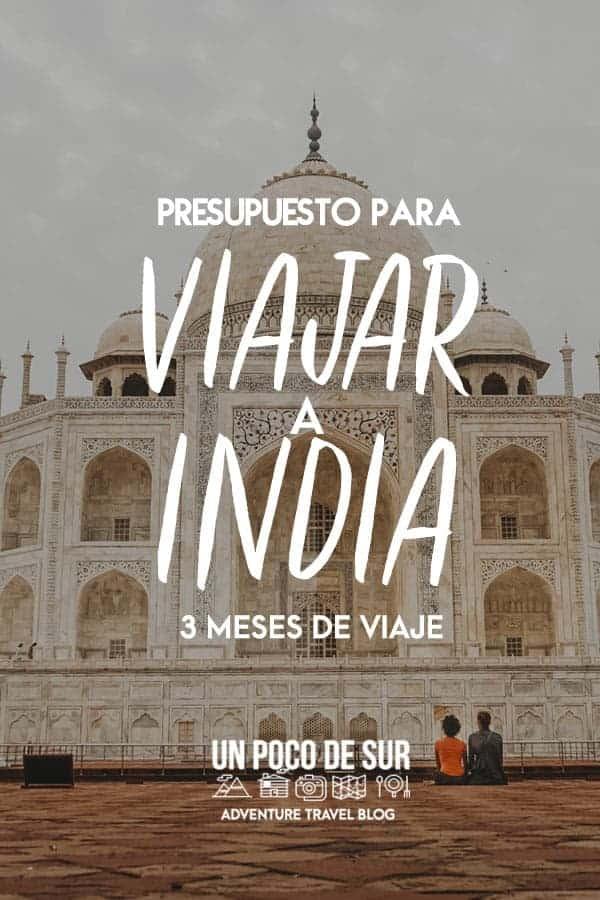 Presupuesto para viajar a India