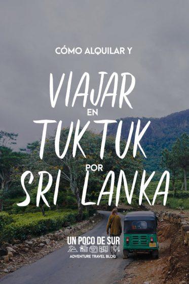 Viajar en Tuk tuk por Sri Lanka