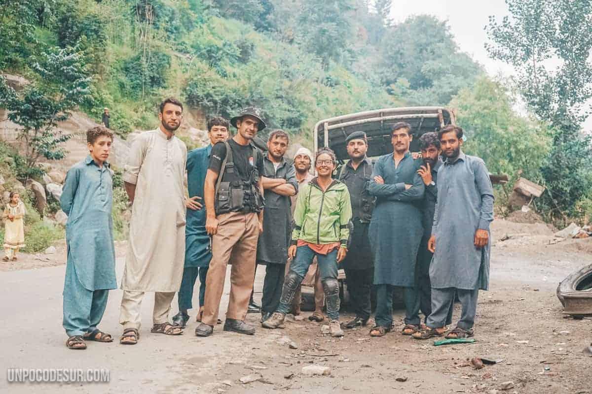 Viajar a Pakisán mujer