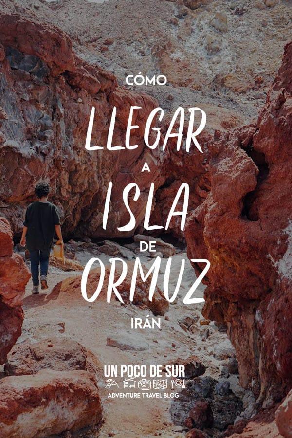 Isla de Ormuz irán