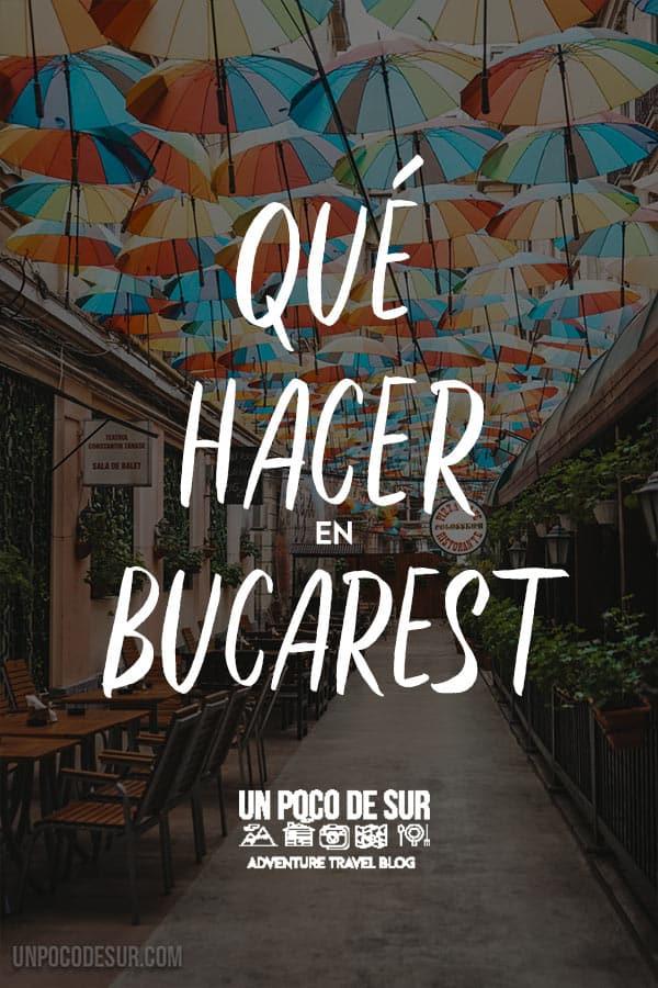Qué hacer en Bucarest