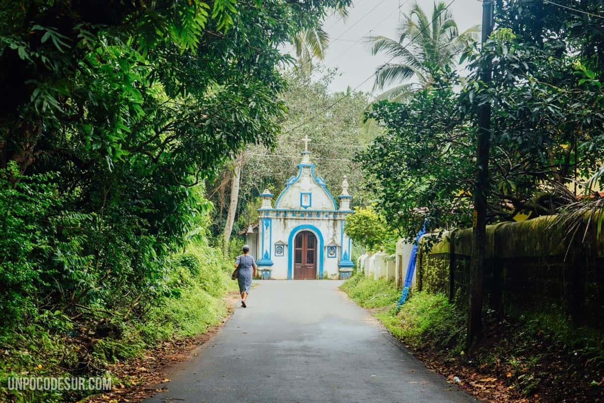 Una capilla de camino a casa