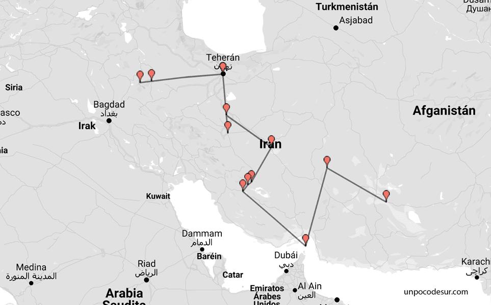 Iran travel guide