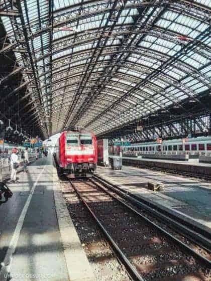 Estaciones de tren en Alemania